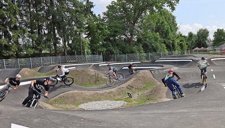 Neue Pumptrack-Anlage in Wels!