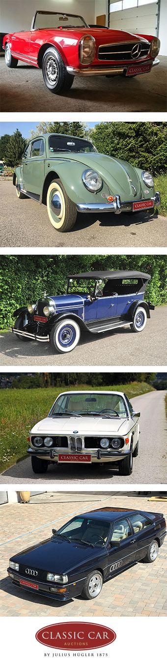 NEU: CLASSIC CAR AUCTION auf der Classic Austria