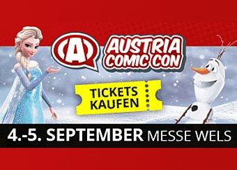 Austria Comic Con | 4. - 5. Sept. 2021